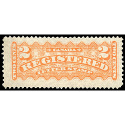 canada stamp f registration f1iii registered stamp 2 1875 m vfng 001