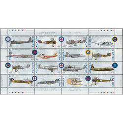 canada stamp 1808 canadian air forces 1924 1999 1999