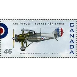 canada stamp 1808i armstrong whitworth siskin 111a 46 1999