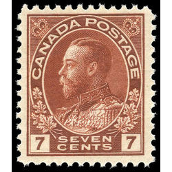 canada stamp 114b king george v 7 1924
