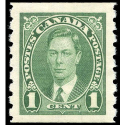 canada stamp 238 king george vi 1 1937