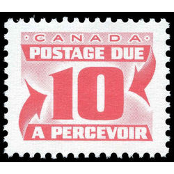 canada stamp j postage due j35a centennial postage dues fourth issue 10 1977