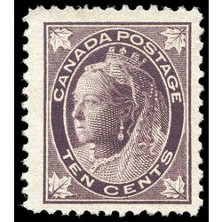 canada stamp 73 queen victoria 10 1897 m vf ng 007