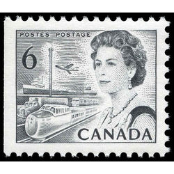 canada stamp 460ds queen elizabeth ii transportation 6 1970