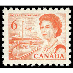 canada stamp 459ii queen elizabeth ii transportation 6 1968