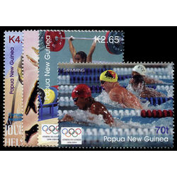 papouasie nouvelle guinee stamp 1132 35 2004 summer olympics 2004