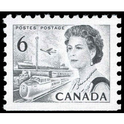 canada stamp 460g iii queen elizabeth ii transportation 6 1970