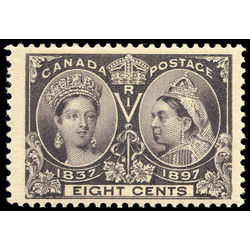 canada stamp 56 queen victoria jubilee 8 1897 m vfnh 005