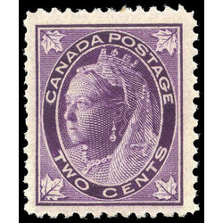 canada stamp 68 queen victoria 2 1897 m vfnh 003