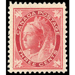 canada stamp 69 queen victoria 3 1898 m vfnh 006