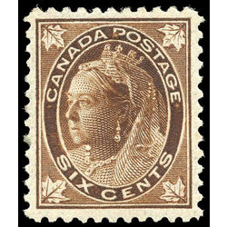 canada stamp 71 queen victoria 6 1897 m vf 011