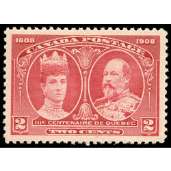 canada stamp 98i king edward vii queen alexandra 2 1908 m vfnh 002