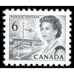 canada stamp 460gii queen elizabeth ii transportation 6 1970