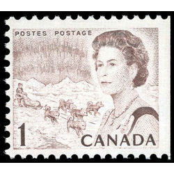 canada stamp 454epi queen elizabeth ii northern lights 1 1971