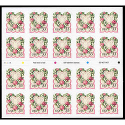 us stamp postage issues 3274a flowers love 1999