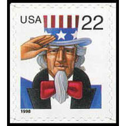 us stamp postage issues 3259 uncle sam 22 1998