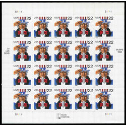 us stamp postage issues 3259 uncle sam 22 1998 m pane