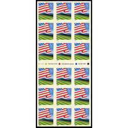 us stamp postage issues 2919a flag over field 1995