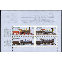 canada stamp 1039a canadian locomotives 1860 1905 2 1984