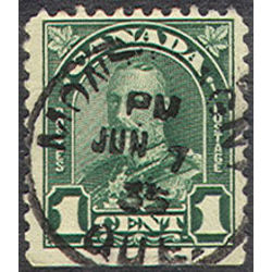 canada stamp 163cs king george v 1 1931
