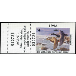 us stamp rw hunting permit rw nh14a new hampshire surf scooters 4 1996