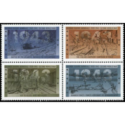 canada stamp 1506a second world war 1943 1993