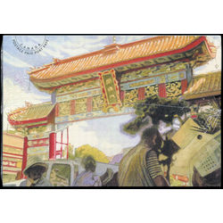 chinatown gates post cards collection