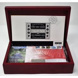 collection of the official first day covers issued by canada post in 2007