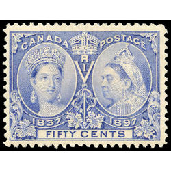 canada stamp 60 queen victoria jubilee 50 1897 m vf 017