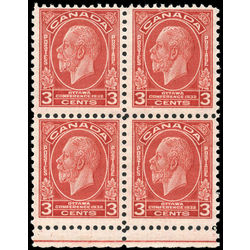 canada stamp 192i block king george v 3 1932