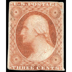 us stamp postage issues 10 washington 3 1851