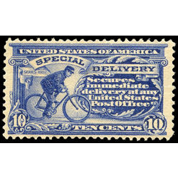 us stamp e special delivery e8b cycling messenger 10 1911