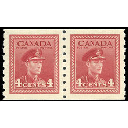 canada stamp 267pa king george vi 1943