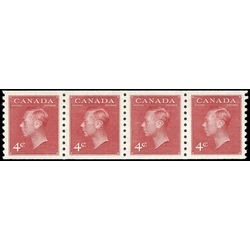 canada stamp 300strip king george vi 1950