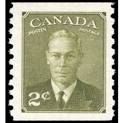 canada stamp 309 king george vi 2 1951