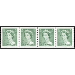 canada stamp 331strip queen elizabeth ii 1953