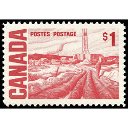 canada stamp 465b edmonton oil field by h g glyde 1 1967