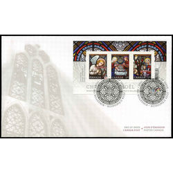 canada stamp 2490 christmas stained glass 2011 fdc 001