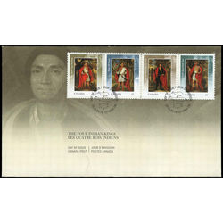 canada stamp 2383a four indian kings 2010 fdc 001