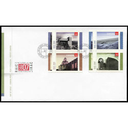canada stamp 2218a royal architectural institute 2007 fdc 001