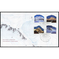 canada stamp 1960 united nations international year of mountains 2002 fdc 001