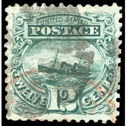 us stamp postage issues 117 s s adriatic 12 1869 u 001