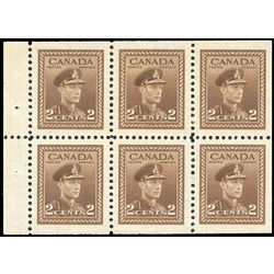 canada stamp 250b king george vi in army uniform 1942