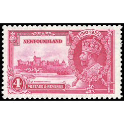 newfoundland stamp 226 windsor castle king george v 4 1935
