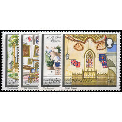 gibraltar stamp 402 5 the convent 1981