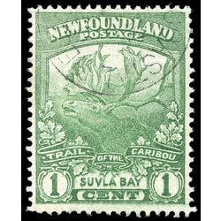 newfoundland stamp 115 suvla bay 1 1919 u f kiss 001