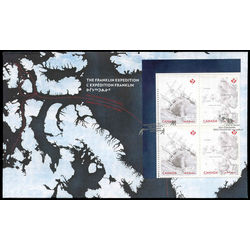canada stamp 2852a the franklin expedition 2015 fdc ul 004