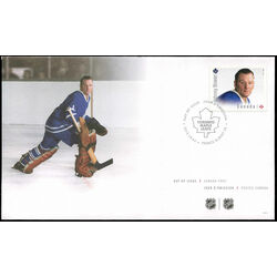 canada stamp 2869 johnny bower 2015 fdc 001