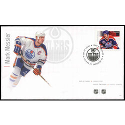 canada stamp 2946 mark messier 2016 fdc 001