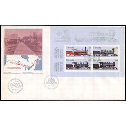 canada stamp 1039a canadian locomotives 1860 1905 2 1984 fdc 001